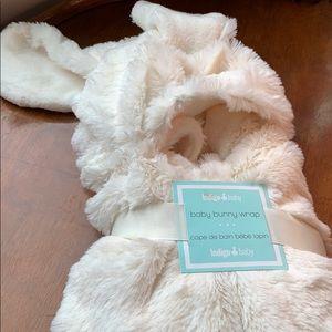 New - baby bunny wrap from Indigo